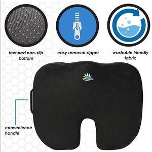Coccyx memory foam seat cushion NEW